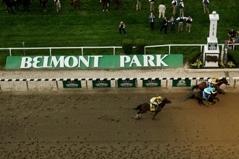 The Peter Pan Stakes is a prep for the Belmont Stakes