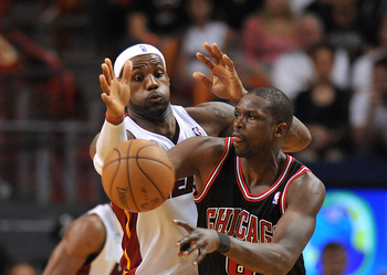 Will Luol Deng be healthy enough to battle LeBron James?