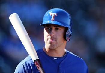Mike Olt has no clear path to Texas, so why wouldn't the Rangers entertain the idea of trading him?