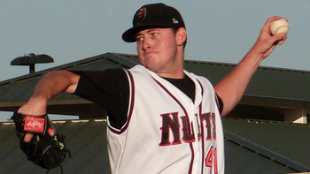 Tyler Matzek could be a nice reclamation project for a team to try and take. Courtesy of Hannah Watson, MiLB.com