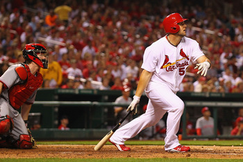 While he may be best served as a DH, Matt Adams has big power potential and just needs the chance to play everyday.