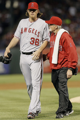 Weaver suffered an elbow fracture in his second start of 2013.