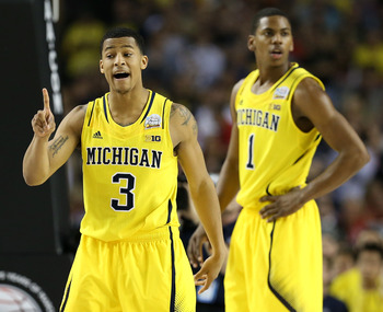 The departure of Trey Burke hurts Michigan's outside shooting.