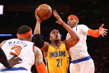 Indiana Pacers' David West