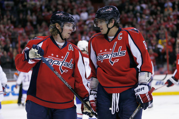 How the Caps are winning without these two guys scoring is a real mystery.
