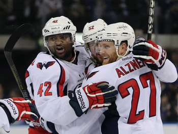 Capitals have a good chance to take care of business against New York.