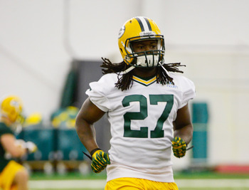 Eddie Lacy (pictured) and Johnathan Franklin will look to create balance on offense.