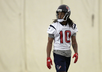 Can DeAndre Hopkins finally give the Texans a solid No. 2 receiver behind Andre Johnson?