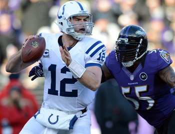 Andrew Luck will look to take the next step toward elite status in his second season.