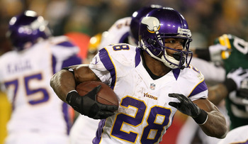 The Vikings may be relying too much on Adrian Peterson.