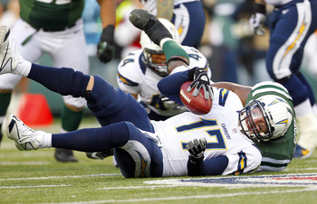 I am not entirely sure the Chargers will be able to protect Philip Rivers (pictured) this season.