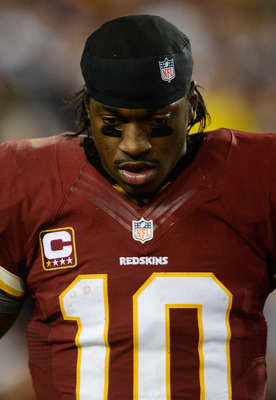 The Redskins need a healthy RGIII to contend in the NFC.