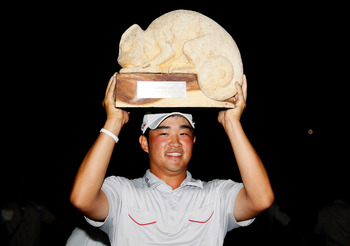 John Huh won the 2012 Mayakoba Golf Classic.