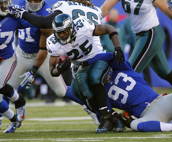 LeSean McCoy's will have to fight off Bryce Brown.