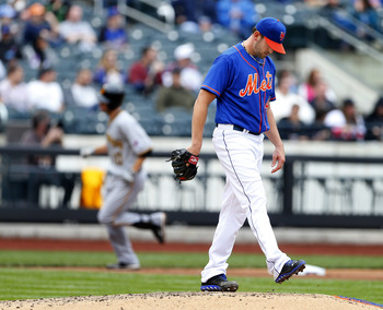 It's been a brutal season for Jonathon Niese.