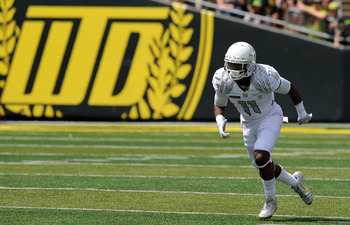 Oregon WR Bralon Addison