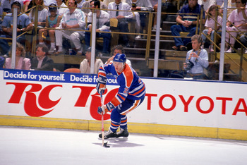 Randy Gregg has had an impact on the Oilers both on and off the ice.