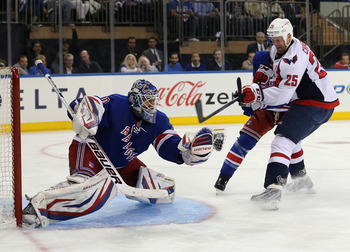 Henrik Lundqvist posted a shutout in Game 6.