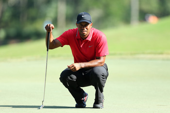 Tiger Woods now has four PGA Tour victories in 2013.
