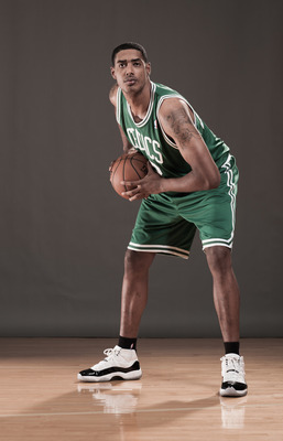 This photoshoot was the highlight of Fab Melo's rookie year.