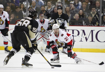 Penguins versus the Senators