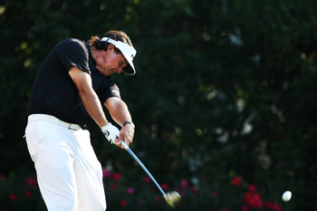 Mickelson has been inconsistent thus far.