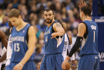 Pekovic did his best to keep the Wolves afloat in 2013.
