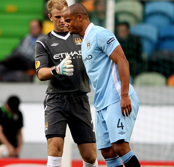 The absence of Kompany's authoritative play compromised City's title defence.