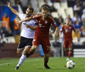 Badstuber's season was cut short by a serious knee injury, which allowed Jerome Boateng to usurp him in Bayern's defence.