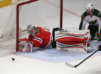Crawford has been huge for the Blackhawks thus far.