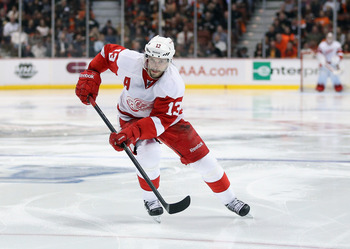 Datsyuk is a two-way threat for the Red Wings.