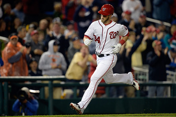 Love him or hate him, Bryce Harper's stock is soaring right now.