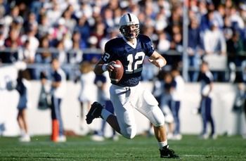 Kerry Collins brought the Nittany Lions into the Big Ten with a flurry