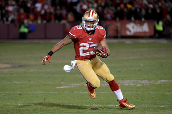 LaMichael James provides the 49ers with an explosive presence.