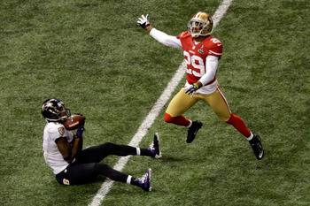 Chris Culliver was beaten by Jacoby Jones for a critical touchdown in the Super Bowl.