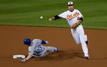 The Orioles beat the Royals 2-1 in a three-game series.