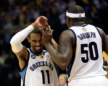 Conley and Randolph are major reasons for Memphis' success.