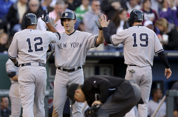 In spite of injuries to their sluggers, the Yankees continue to hit with power