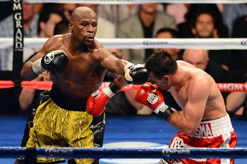Mayweather just makes it look easy.