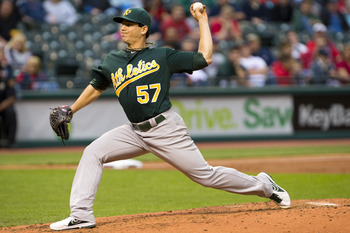 Milone is a bright spot, but his record doesn't match.