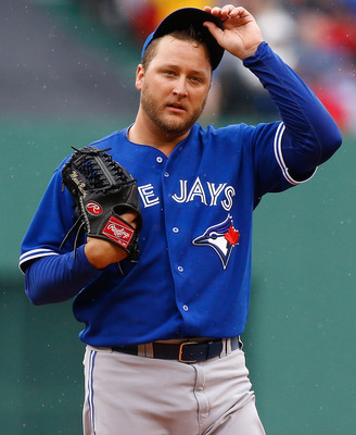 Mark Buehrle's return to the AL hasn't gone as planned.