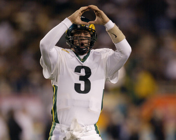 Joey Harrington meant a lot to the program.