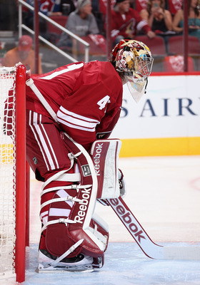 Mike Smith has proven himself as a big-game goalie.