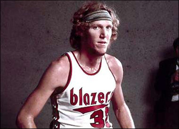 Portland Trail Blazers' Bill Walton via Hoopdeia.nba.com