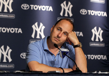 Brian Cashman must have grown tired of all the questioning of his offseason decision-making.