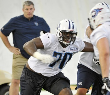 Warmack was the Titans' 10th overall pick