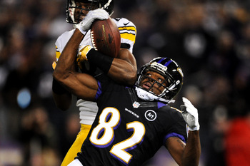 Wide receiver Torrey Smith will be asked to lead a young receiving corps in 2013.