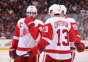 The Red Wings will go as far as Datsyuk and Zetterberg take them.