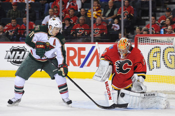 Parise was targeted by the Blackhawks' top pairing.