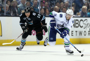 Raffi Torres was up to his old tricks, knocking Jarret Stoll out of the game.
